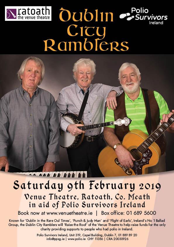Dublin City Ramblers Fundraising Gig