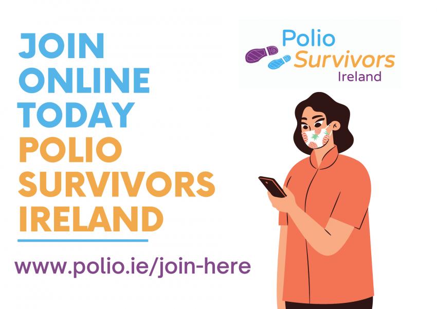 Join Polio Survivors Ireland Online
